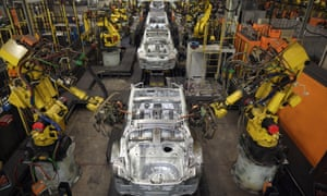 Just under 161,500 cars left UK factories, down by 4.6% on the same month in 2016.