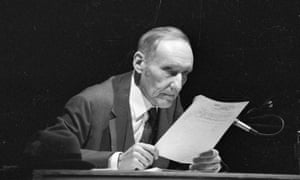 Time for a fresh look at experimental writing … William Burroughs in 1960.