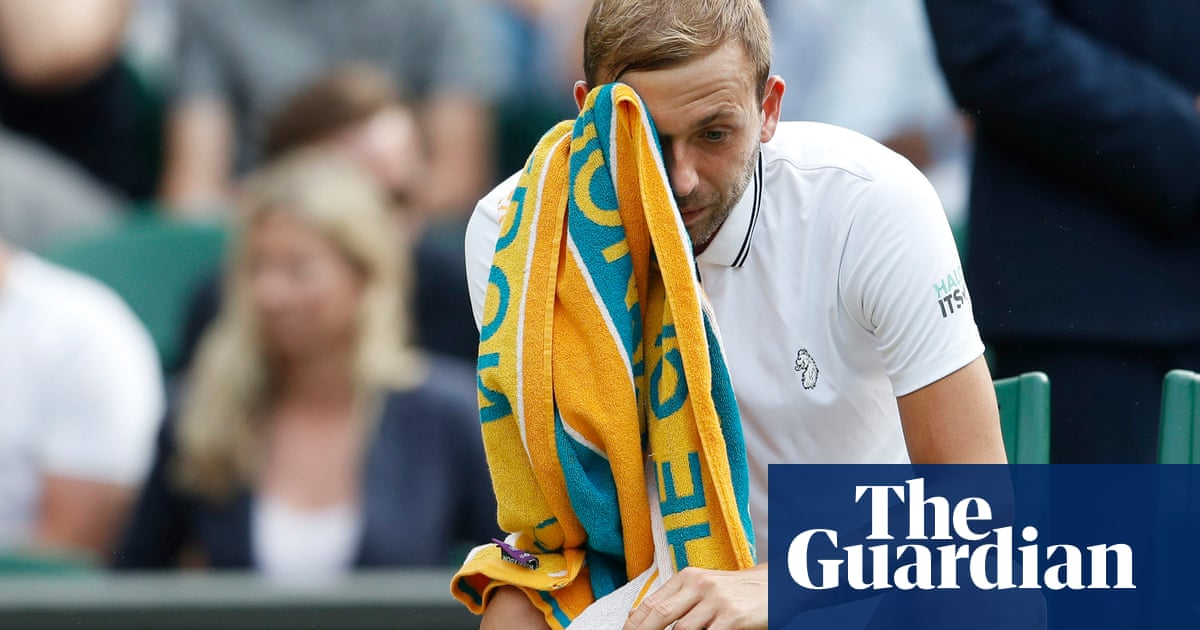 Dan Evans pulls out of Tokyo Olympics after testing positive for Covid