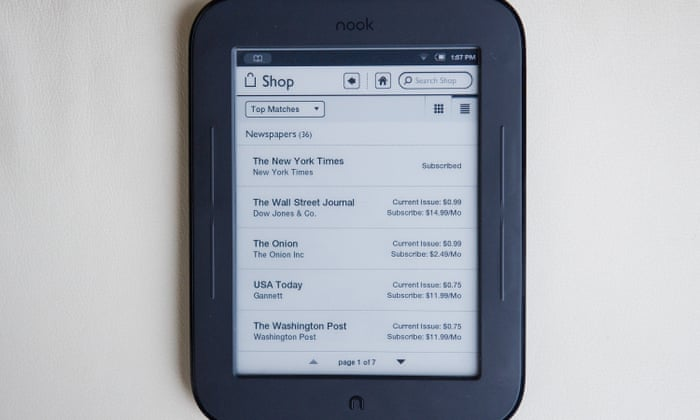 Goodnight and good Nook: farewell to a beloved e-reader