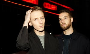 James Hatcher and Andy Clutterbuck of Honne