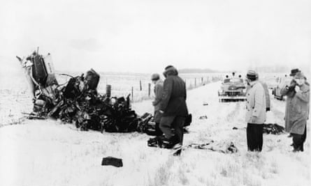'The day the music died' … the 1959 plane crash that killed Buddy Holly is thought to be one of the song's references – but McLean hints it could be about his father's death.