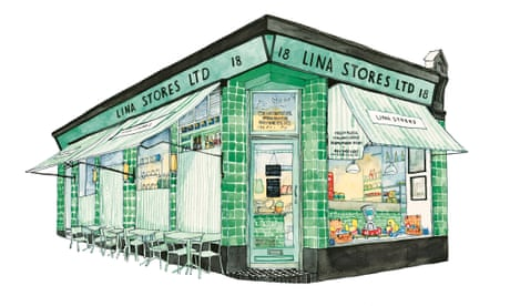 Paint the town: an illustrated celebration of London shopfronts
