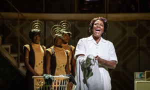 Sharon D Clarke and ensemble in Caroline, Or Change at the Playhouse theatre.