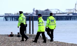 Police in Brighton