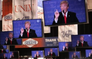 It is estimated the Donald Trump received $5bn in free media coverage during the election.