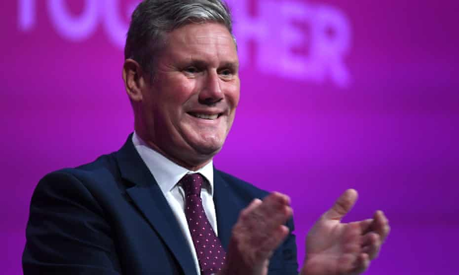 Keir Starmer during the Labour party conference