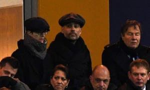 Pep Guardiola at Mansfield