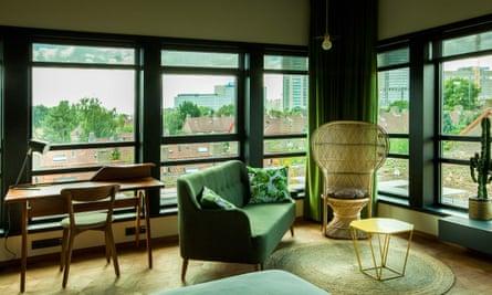 Sitting room at Hotel V Fizeaustraat
