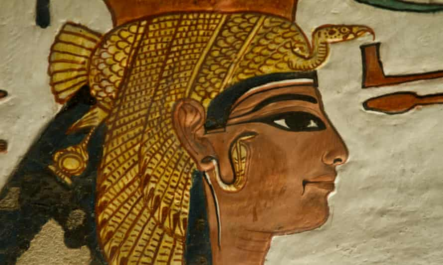 """""""Having studied the woman and looked at so many images of her beautiful face I think there is a sense of immense irony that physically this is what we have got,"""" said Egyptologist Joann Fletcher"""
