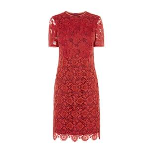 Lace pencil dress, £215, karenmillen.com.