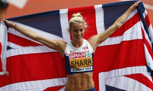 Lynsey Sharp for Great Britain