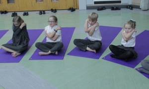 English Martyrs headteacher Lewis Dinsdale is enthusiastic about the benefits of meditation for young children.