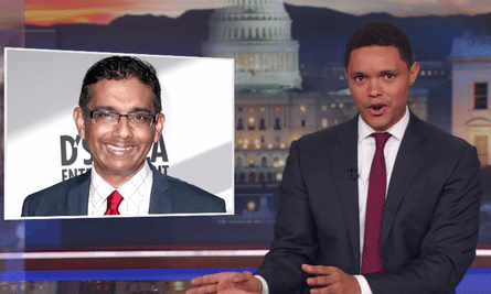 Trevor Noah: 'I'm not saying that being an asshole is reason enough not to pardon someone but what I am saying is that maybe Trump pardoned D'Souza because he is an asshole'