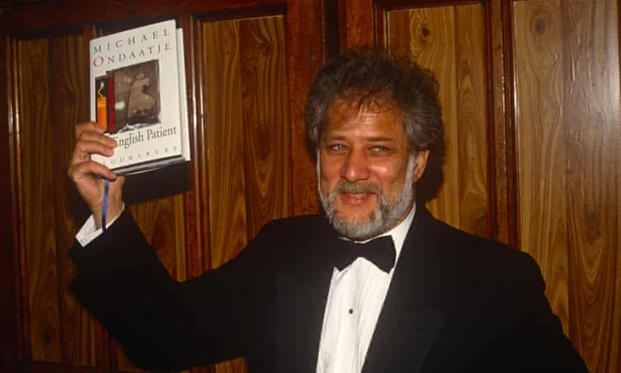 Michael Ondaatje in 1992, after being jointly awarded the Man Booker prize.