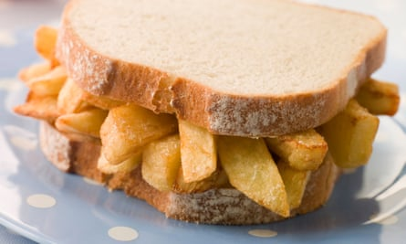 A humble chip butty