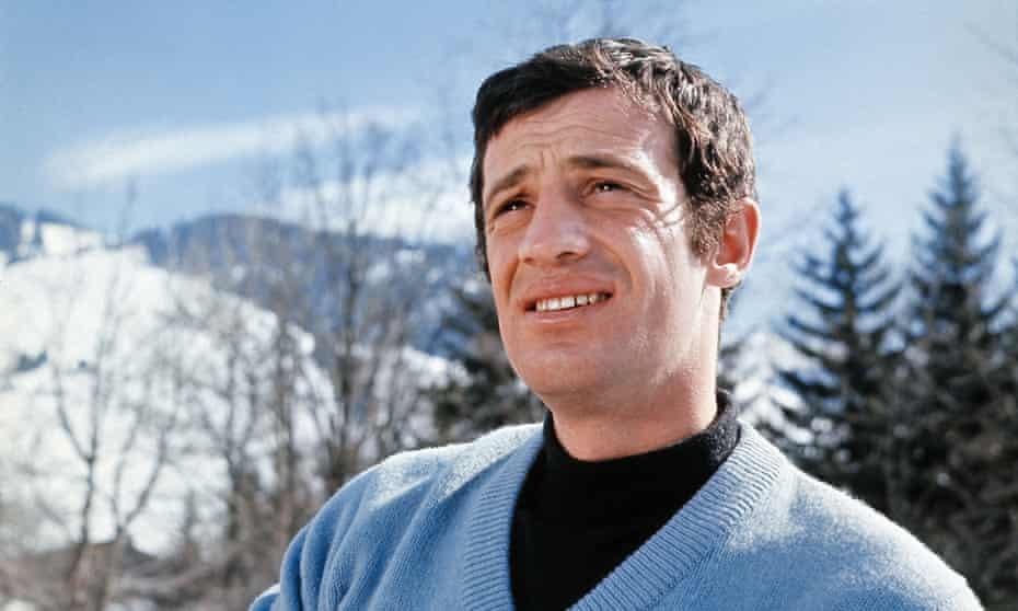 Screen icon … Jean-Paul Belmondo.