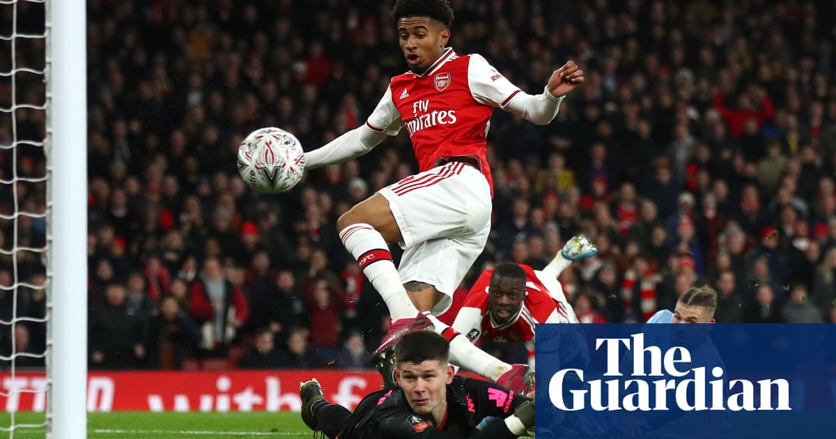 Reiss Nelson puts Arsenal through in FA Cup despite Leeds' best efforts