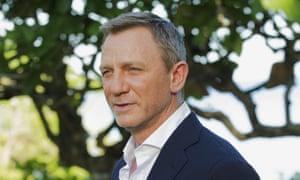 Spy fall … Daniel Craig.