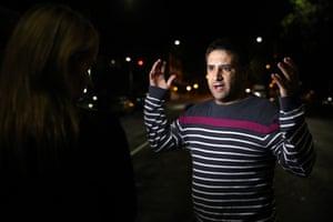 Survivor Ahmed al-Mahmoud speaks about his experience, describing how a gunman started shooting inside Al Noor mosque