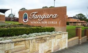 Tangara School for Girls in Cherrybrook in Sydney, Australia.