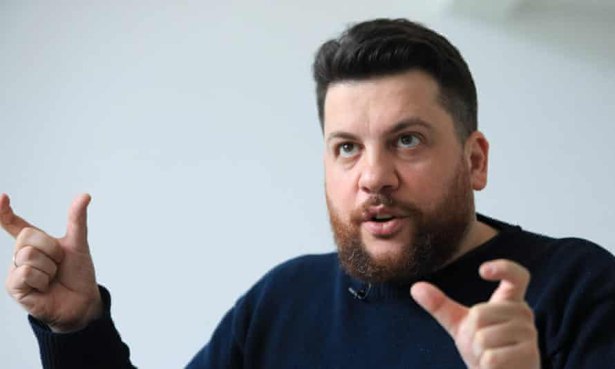 The real Leonid Volkov, Russian opposition politician and close ally of Alexei Navalny, in March 2021. He said the deepfake of him used in the calls was 'virtually identical'.
