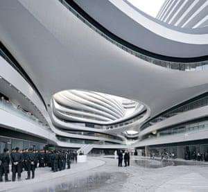 Galaxy Soho, Beijing, China.
