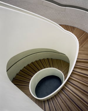 A staircase in the Newport Street Gallery.