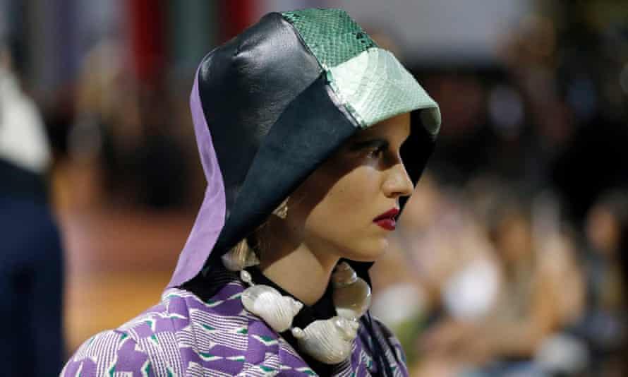A model in Milan