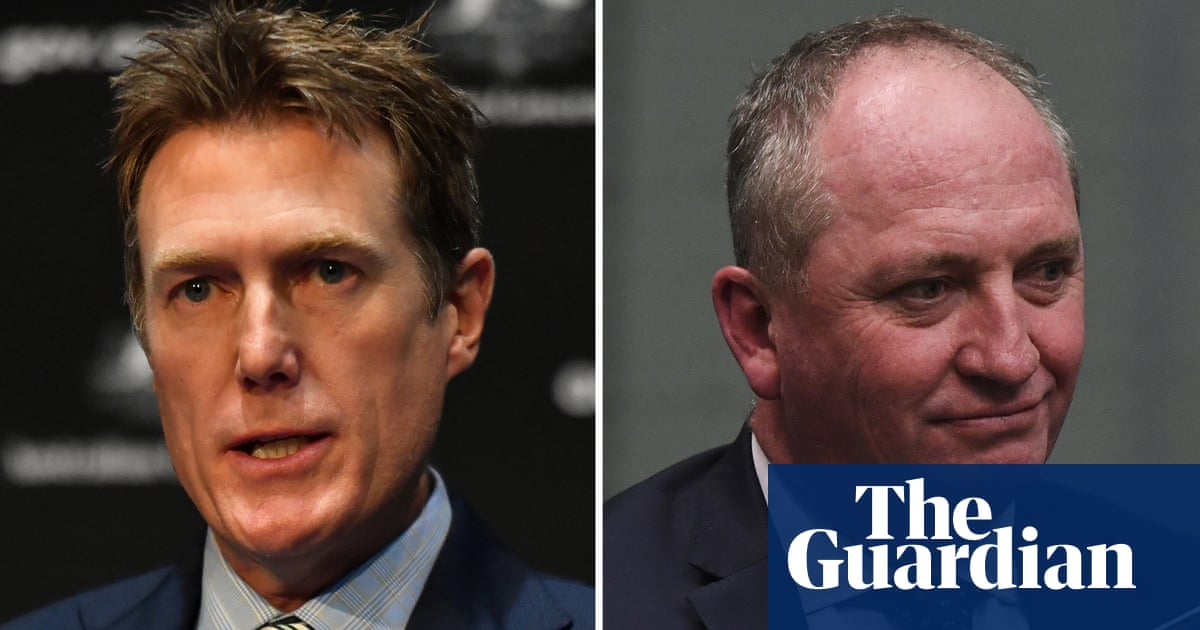 Barnaby Joyce backs 'incredibly intelligent' Christian Porter for eventual return to frontbench