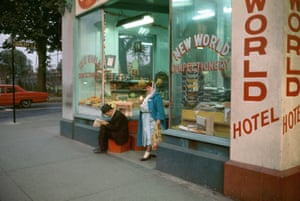 New World Confectionery, 1965  by Fred Herzog