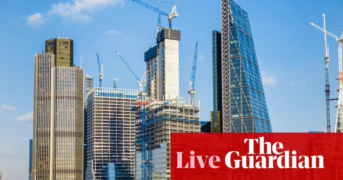 UK debt servicing costs hit record as inflation rises – business live