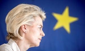 Germany's defence minister, Ursula Von der Leyen,
