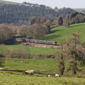 Tarka Rail Ale Trail train