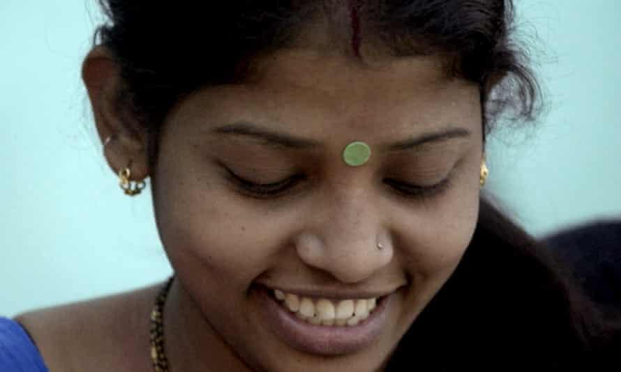 Women with bindi
