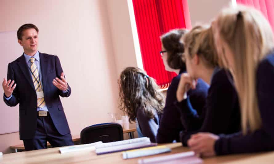 A sex education class at Didcot girls' school, Oxfordshire.