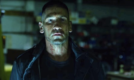 Hard choices for a hard man: Jon Bernthal as the Punisher.