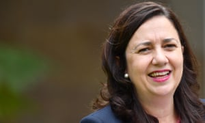 The Queensland Labor premier Annastacia Palaszczuk. 'It's all her fault,' says Queensland LNP MP Peter Dutton.