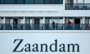 The Zaandam, which is carrying more than 200 British nationals, passed through the Panama canal on Monday after being denied entry to several ports.
