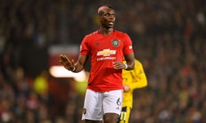 Paul Pogba faced Arsenal on Monday but has been left out against Alkmaar because of the artificial surface and an ankle injury.