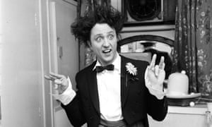 Ken Dodd during the run of Doddy's Here! at the London Palladium in 1965.