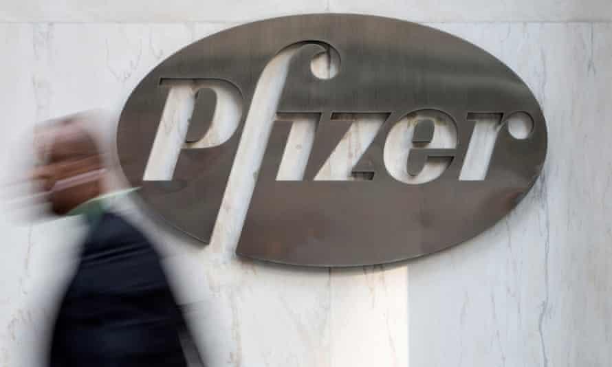 Pfizer's world headquarters in New York.
