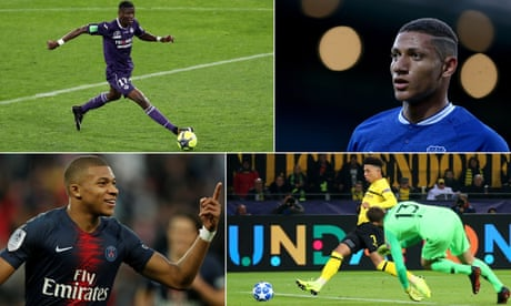 Ten young players who have taken Europe by storm this season | Martin Laurence