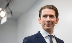 Kurz is poised, at 31, to become Europe's youngest leader.