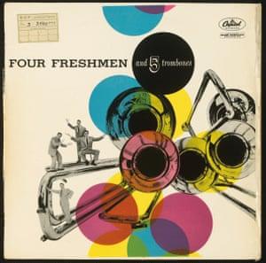 FOUR FRESHMEN, FOUR FRESHMEN AND 5 TROMBONES (CAPITOL), 1955
