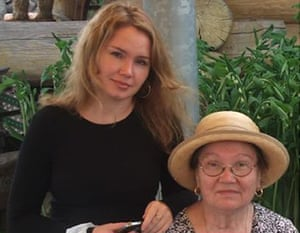 Mother and daughter Svetlana Zolotovska, 40, and her mother, Antonina Belska, 70, were both stabbed to death by Svetlana's ex-husband Sergei Zolotovsky, in 2010.