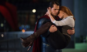 Henry Cavill and Amy Adams in Batman v Superman: Dawn Of Justice.
