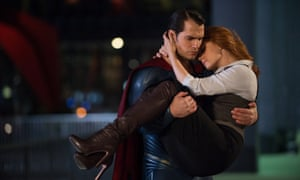 'Needing to be rescued': Amy Adams as Lois Lane, saved again by Henry Cavill's Superman
