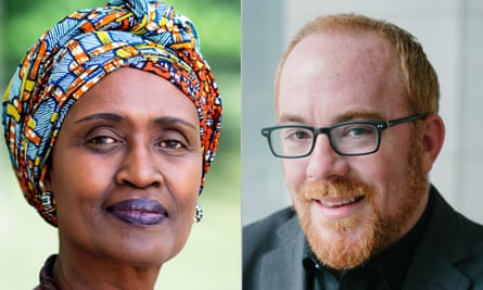 Winnie Byanyima, Executive Director of UNAids and UN undersecretary general, and Matthew Kavanagh, Director of the Global Health Policy & Politics Initiative at Georgetown University's O'Neill Institute.