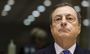 ECB president Mario Draghi.